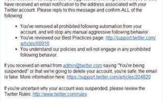 Как разблокировать «забаненый» твиттер аккаунт