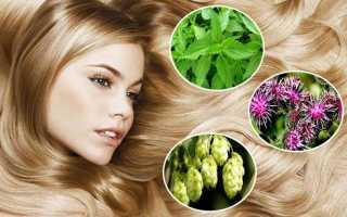 Как восстановить выпавшие волосы