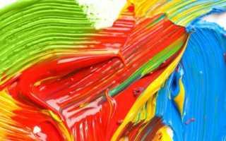 Как разбавить акриловую краску. Как правильно работать с растворителями. Что делать, если краска засохла.